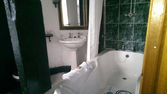 Kinnitty Castle Hotel : The bathroom