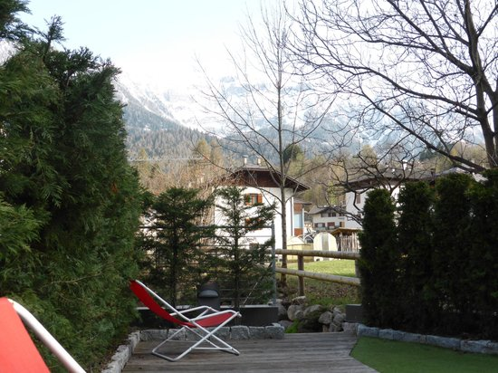 Sporthotel Rosatti: Wellnessterrasse