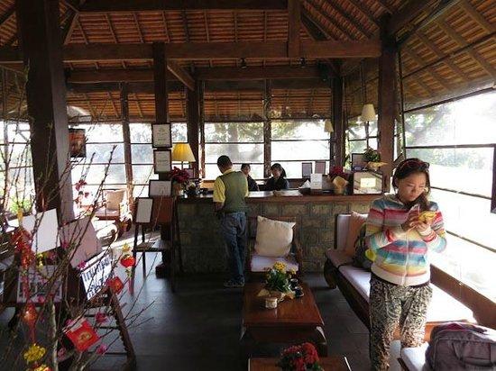 Ana Mandara Villas Dalat Resort & Spa: Reception