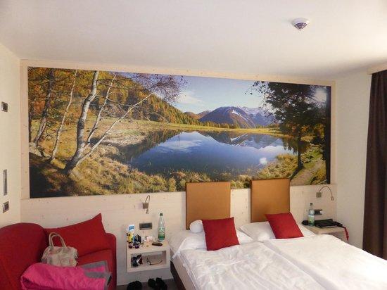 Sporthotel Rosatti : Zimmer (DZ mit Schlafcouch)