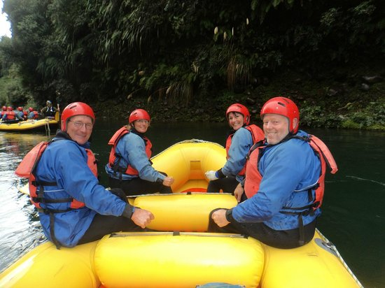 Tongariro River Rafting: Setting off to the unknown