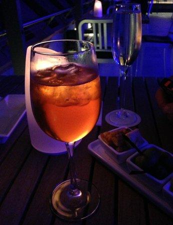 Hilton Molino Stucky Venice Hotel: Skybar Drinks
