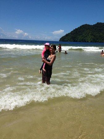 Maracas Bay: Beach with calm waves