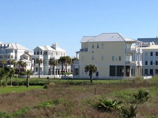Beachtown, adjacent to The Galvestonian, view from beach