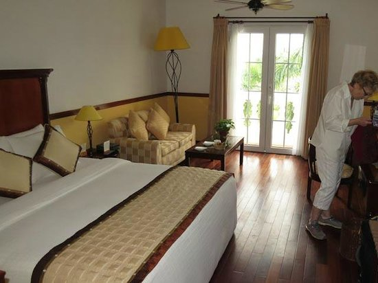 Victoria Can Tho Resort : Comfortable room