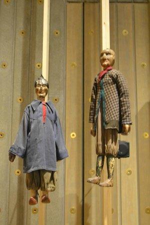 Museum aan de Stroom : staafmarjonetten