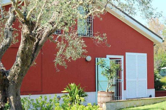 Borgo Rosso B&B Country House: Casa padronale
