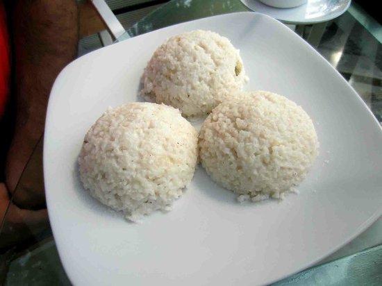 Tea Cottages Resort & Spa : coconut rice