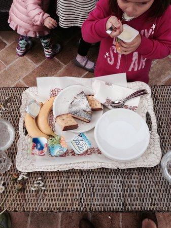 Agriturismo Ca Maggio : L'ora della merenda...