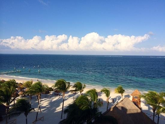 Excellence Riviera Cancun : view from the roof top terrace