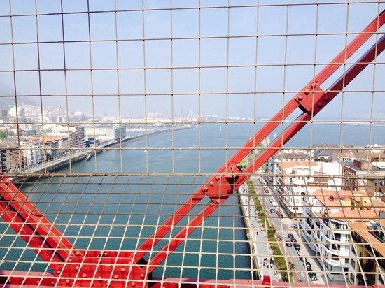 Vizcaya Bridge: Desde arriba