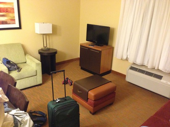 TownePlace Suites by Marriott Albuquerque North: Living area