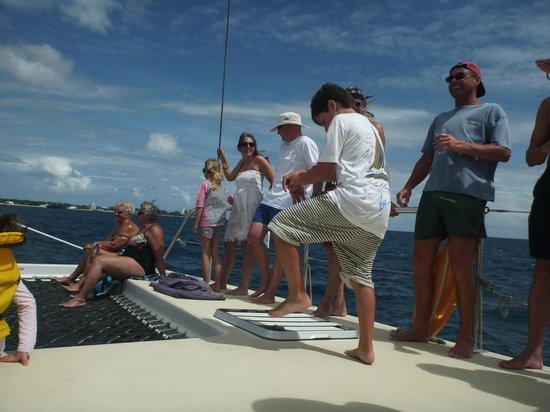 Cool Runnings Catamaran Cruises : Dancing on the deck