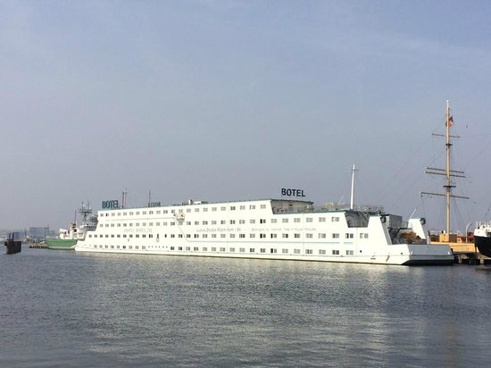 Amstel Botel pic taken from the ferry port