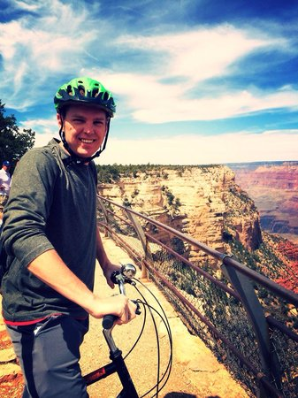Bright Angel Bike Rentals and Tours: Amazing views.