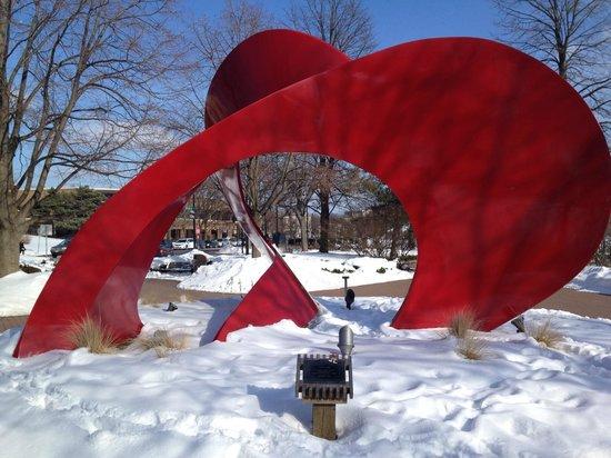 Riverwalk: Sculpture:  Landforms, Jack Arnold, 1984