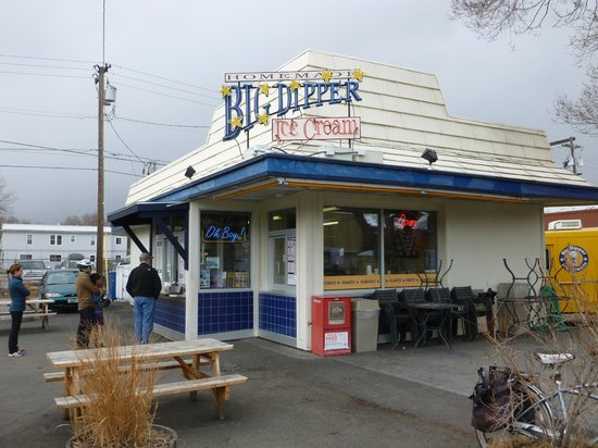 Big Dipper Ice Cream : Big Dipper Building
