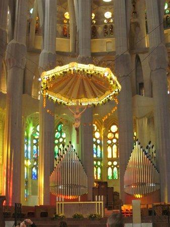 Sagrada Família : Lámpara
