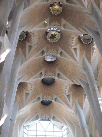 Sagrada Família : Columnas