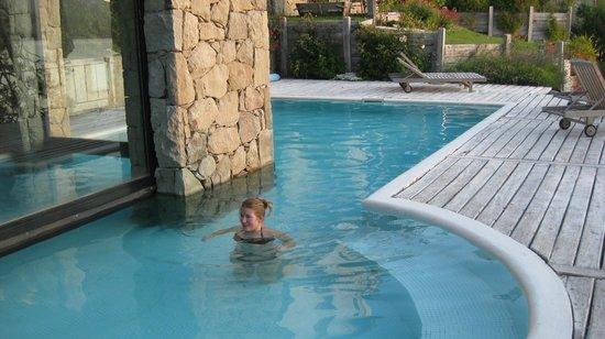 Luma Casa de Montana : piscina in and out, climatizada