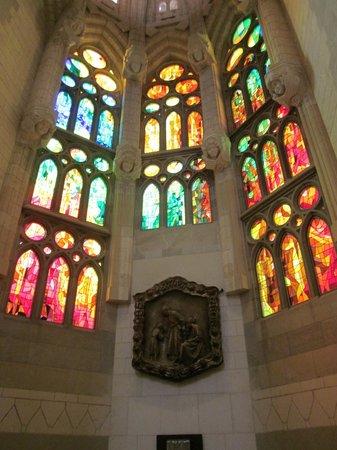 Sagrada Família : Cristaleras