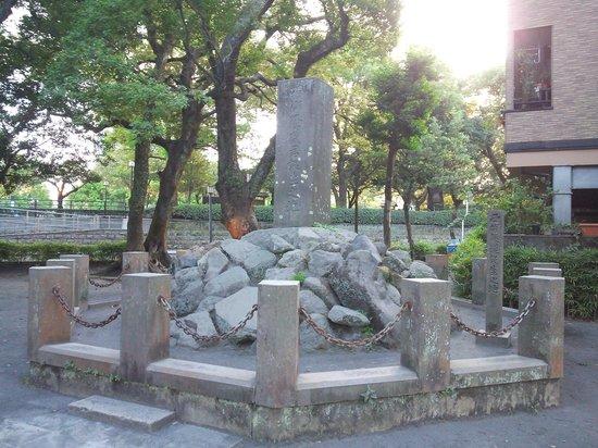 Takamori Saigo Birthplace Monument: 13.09.22【西郷隆盛生誕地】石碑