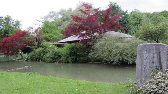 Jardín inglés: JapanischeTeezeremonie jedes zweite Wochenende