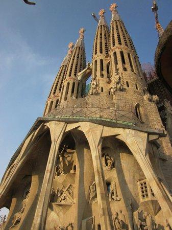 Sagrada Família : Vista desde fuera