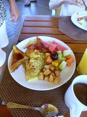 Copamarina Beach Resort & Spa : Breakfast