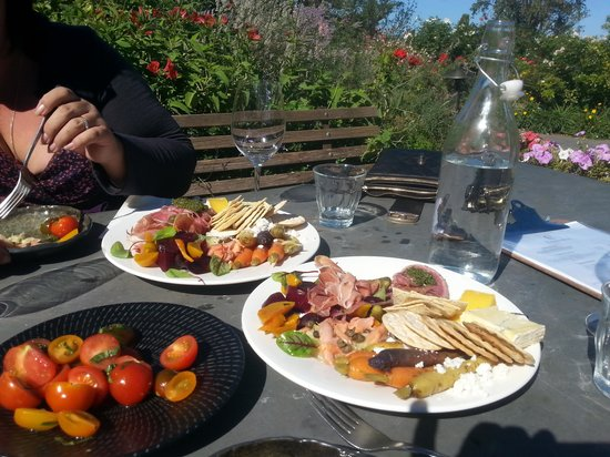 Coriole Winery: the food platters