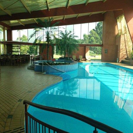 Hotel Villa Rossa : Piscina climatizada