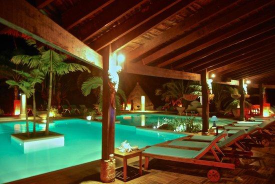 Naina Park Hotel: Faré SPA : Piscine