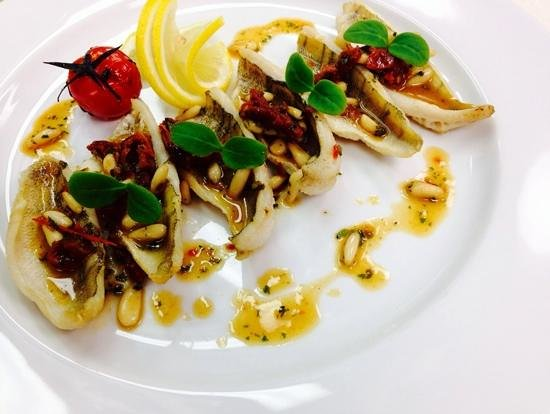Restaurant RIVA: Egli Filet