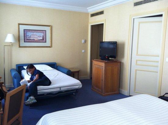 Hôtel Le Littré : room