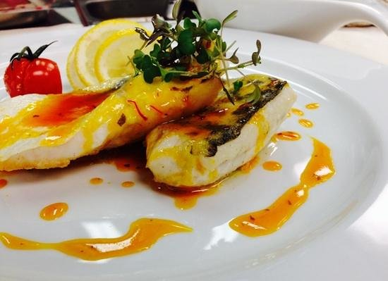 Restaurant RIVA: Zander Filet