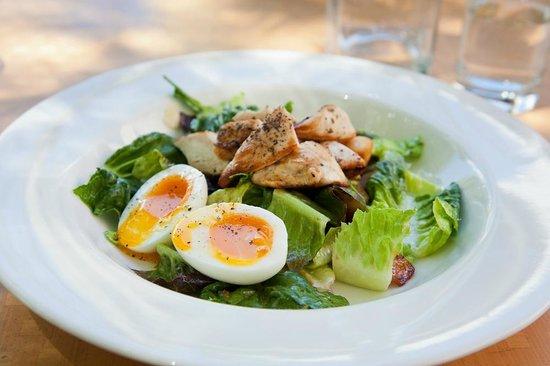 The Gallery Cafe: Caesar salad