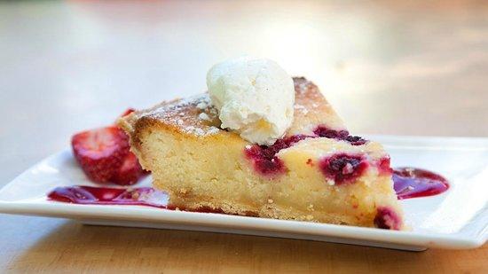 The Gallery Cafe: Frangipan tart