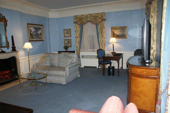 Waldorf Astoria New York: Sala de estar (suite)