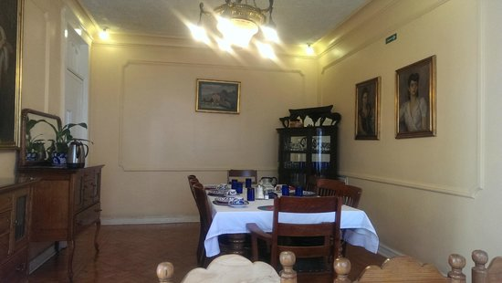 Hotel Casa Gonzalez: One side of the dining room