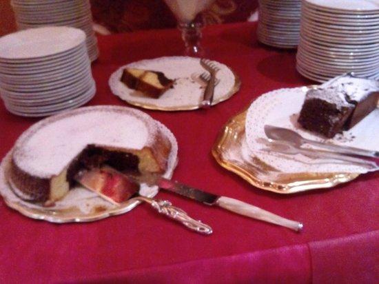 Hotel Puccini: i dolci della colazione