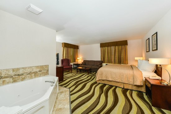 Quality Inn & Suites of Stoughton: King Suite