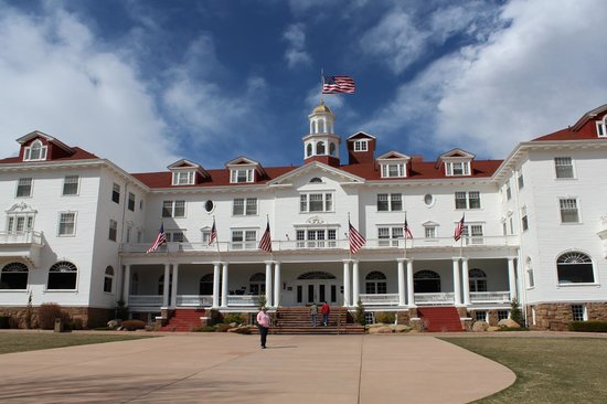 Stanley Hotel: Beautiful, gorgeous weather on our first day!