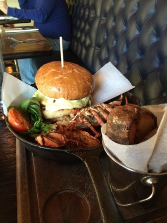 River Bar Steakhouse & Grill : Surf and turf!