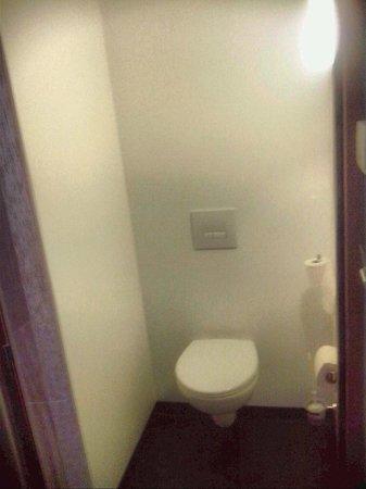 Ibis Budget Aeroport Lyon Saint Exupery : toilet