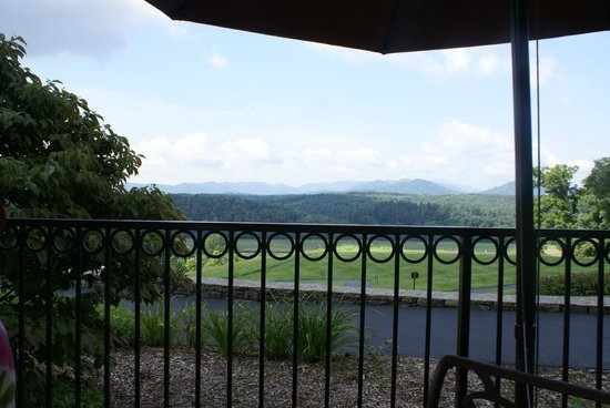 Inn on Biltmore Estate: View from restaurant during breakfast