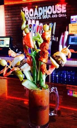Clio, MI: Our 24 oz Bloody Mary Brunch... Just $25
