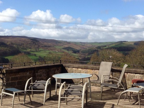 Millstone Country Inn: Roof terrace