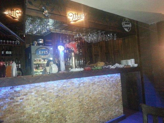 Sultan Hostel: the bar