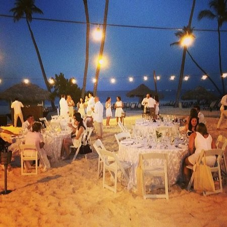 Paradisus Palma Real Golf Spa Resort Welcome Beach Bbq