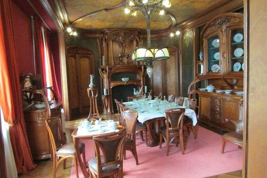 Musée de l'École de Nancy : Dinig room